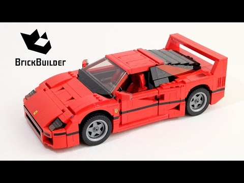 lego creator 10248 ferrari f40 lego speed build youtube. Black Bedroom Furniture Sets. Home Design Ideas