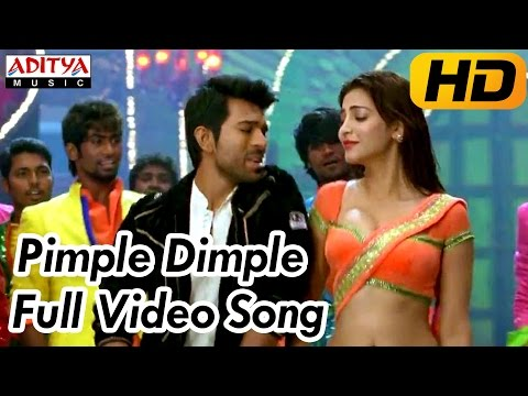 Pimple Dimple Full Video Song || Yevadu Video Songs || Ram Charan, Shruti Hassan