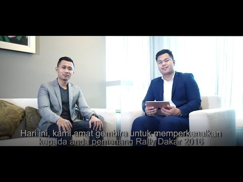 """Interview with """"Road to The Dakar"""" offer's winner among partners (malay subtitles)"""