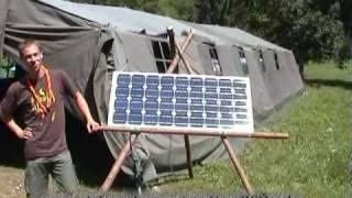 Solarni komplet za tabornike in skavte