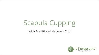 Scapula Cupping Therapy
