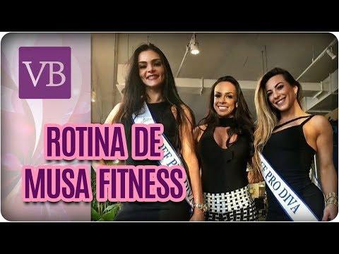 Papo Saudável: Rotina de Musa Fitness - Você Bonita (19/10/17)