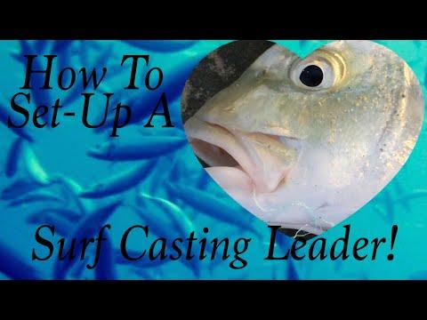 How I Set-Up My Surf Casting Leader!