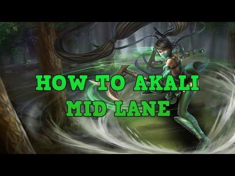 Akali Guide: How To Mid Lane/Snowball As Akali - Professor Akali