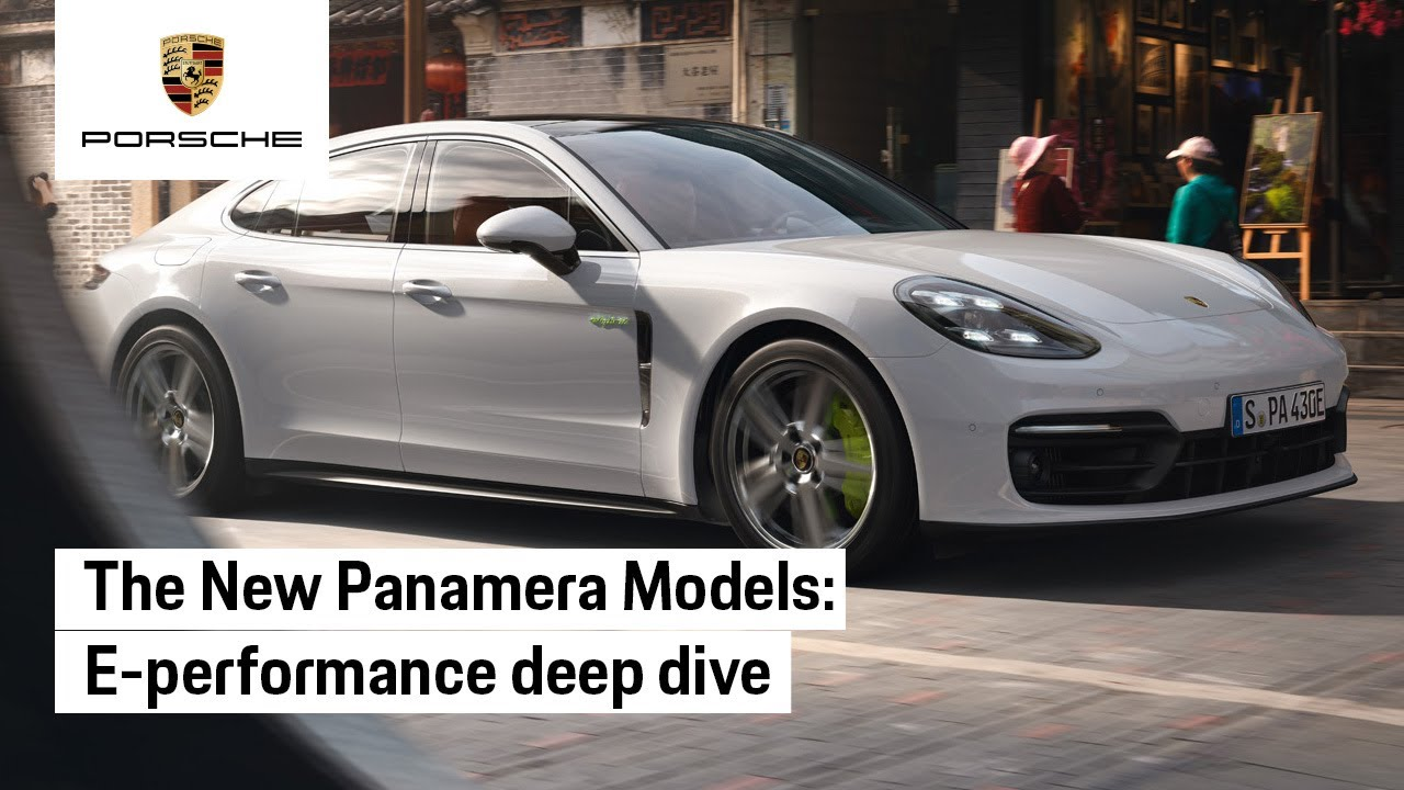 The new Panamera: E-Performance deep dive