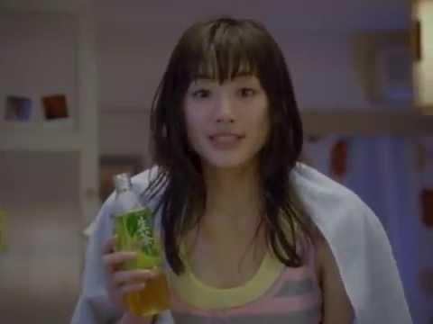 綾瀬はるか 生茶 CM スチル画像。CM動画を再生できます。