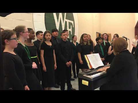 The William Paca Middle School Jazz Choir
