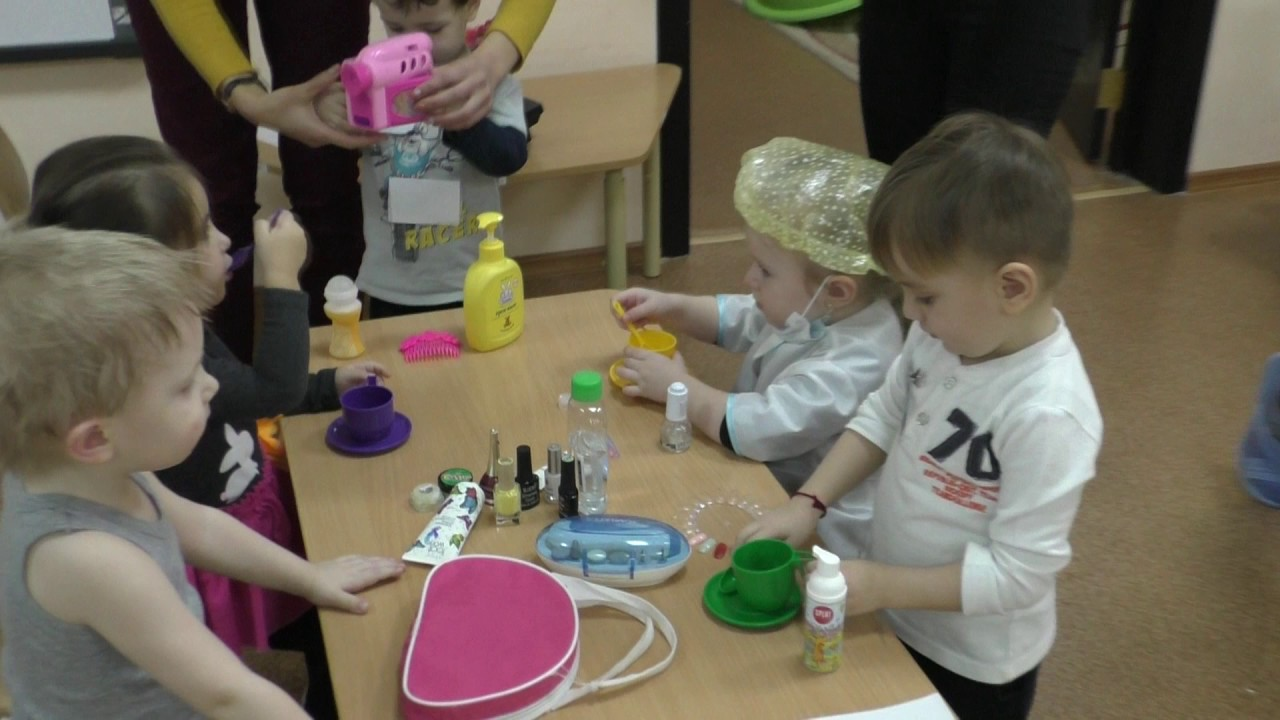 дети 3 4 лет игра на знакомство
