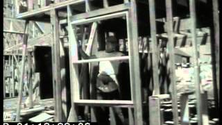 1950s newsreel about the building of suburbia in Levittown