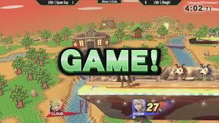 ESV Smash 4 Weekly #5 - LAGr   Shoghi (Robin) vs LAGr   Spam Cop (Cloud, Mario) - Winner's Finals