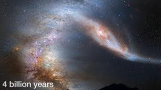 Crash der Titanen: Milchstraße und Andromeda-Galaxie
