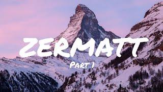 ЦЕРМАТТ Лучший горнолыжный курорт ледниковый экспересс Маттерхорн и Горнеграт