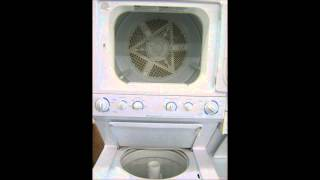 Frigidaire Gallery Series ~ commercial heavy duty stackable washer & dryer (gas dryer)