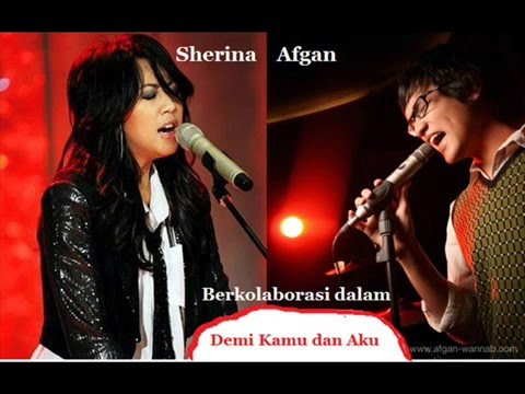 Afgan feat Sherina Demi Kamu dan Aku (lirik)