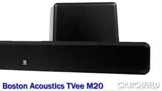 Boston Acoustics TVee M20 Sound Bar with Wireless Subwoofer | Crutchfield Video