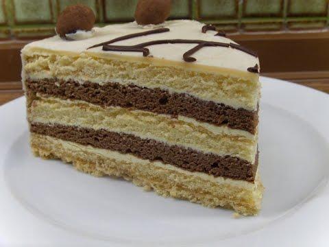 mozart buttercreme torte rezepte aus der berliner kaf doovi. Black Bedroom Furniture Sets. Home Design Ideas