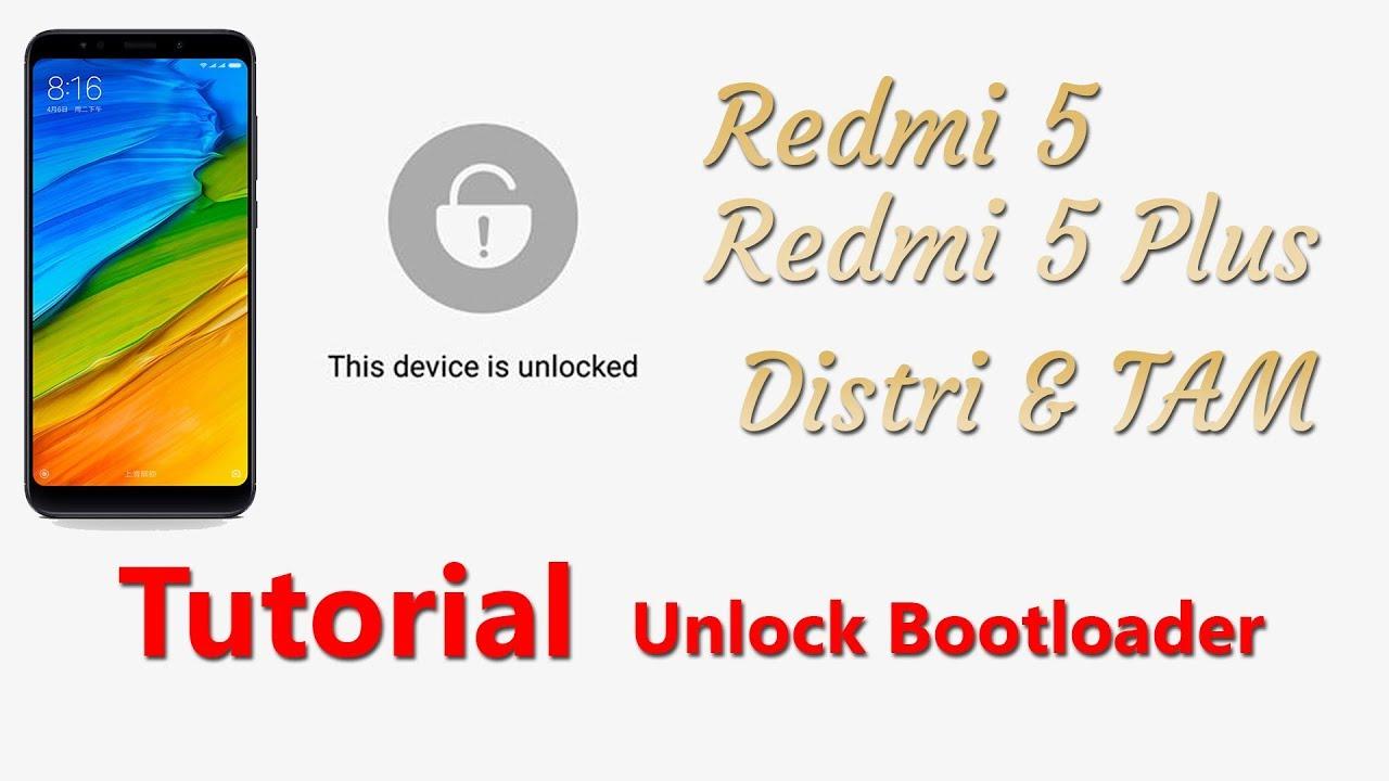 Tutorial Unlock Bootloader Redmi Series[Redmi5a,note 5a ,Redmi 5/plus]