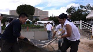 天理大学 平成28年熊本地震の被災地で支援活動を実施