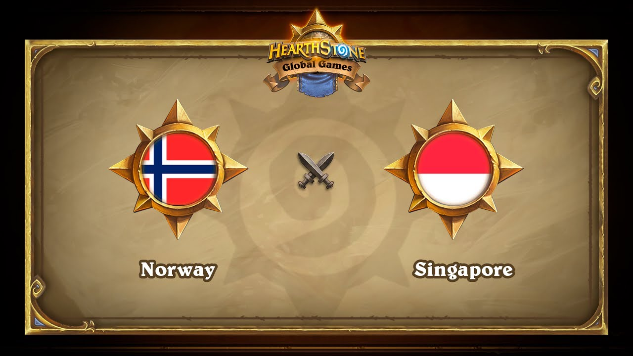 Norway vs Singapore, Hearthstone Global Games Phase 2
