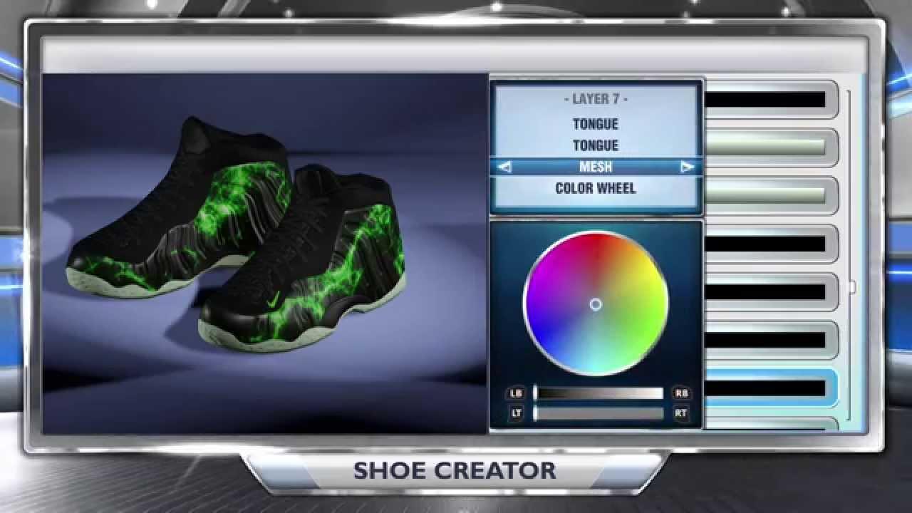 the best attitude 5ed87 3d439 NBA 2K14 Shoe Creator - Air Foamposite One Paranorman