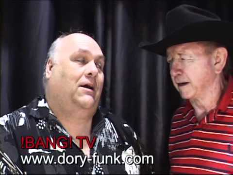 Dory Funk Jr. Talks With USA Wrestling's Bert Prentice