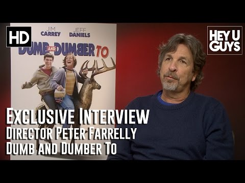 Director Peter Farrelly Interview - Dumb and Dumber To