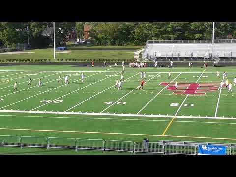 lafayette girls soccer vs boyle county part 1