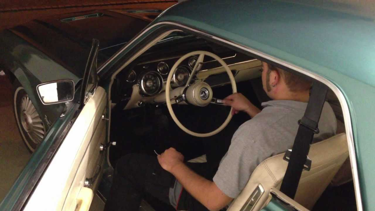 1967 ford mustang 200cui 6 cylinder engine start