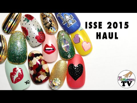 HAUL - Nail Products from ISSE Long Beach 2015