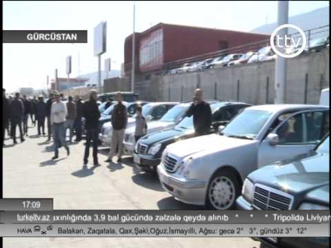 Gurcustan avtomobil bazari