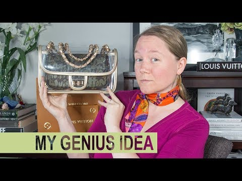 WHAT FITS: Clear Chanel Inspired Bag || Lam Gallery|| Autumn Beckman