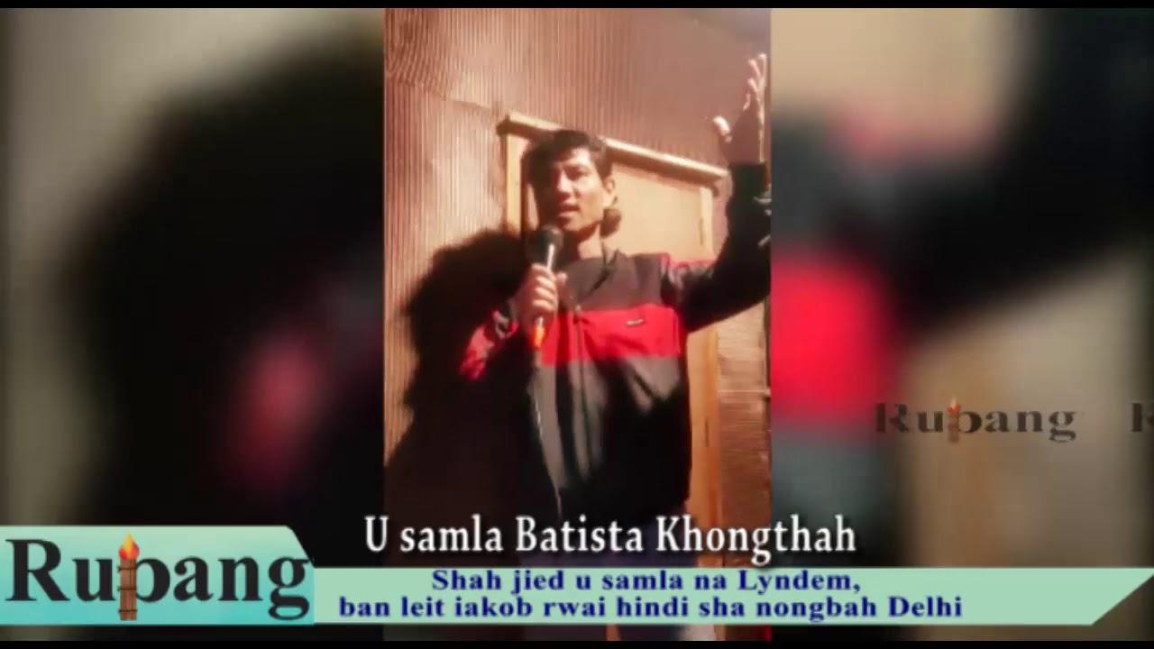 Download Shah jied u samla na Lyndem, ban leit iakob rwai hindi sha nongbah Delhi