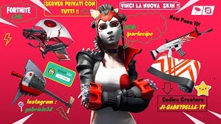 🔴 LIVE FORTNITE PRIVATE SERVER FOR ALL PASS 10 A CHI MY SUPPORT: J1-GABRYDELLE-YT