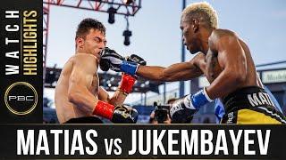 Matias vs Jukembayev HIGHLIGHTS: May 29, 2021 | PBC on SHOWTIME