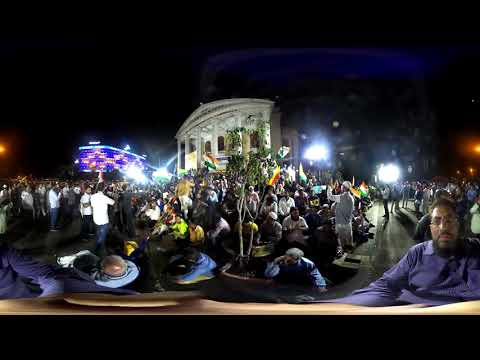 360° video | Protest against CAA, NRC & NPR @ Town Hall, Bangalore 30 January 2020