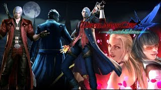 Devil May Cry 4 SE- Story Mode -(+Devil May Cry 3 1080p/60fps)