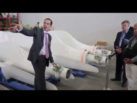 A Tour of the New Endurance Wind Turbine Factory