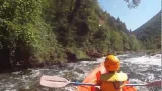 Canoe, Parcours Les Vignes - Le Rozier, 12 km, camping le randonneur