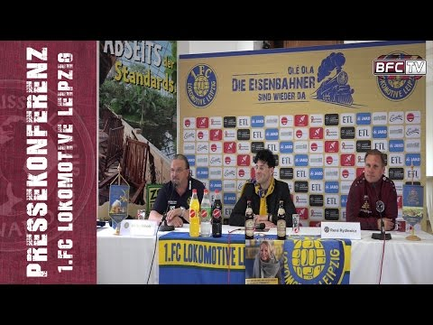 26.Spieltag - Regionalliga Nordost - 1.FC Lokomotive Leipzig - BFC Dynamo 3:2 - 02.04.2017 - PK