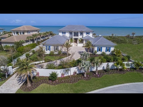 Luxury Real Estate | Oceanfront Property| 9050 Rocky Point Drive Vero Beach, Florida
