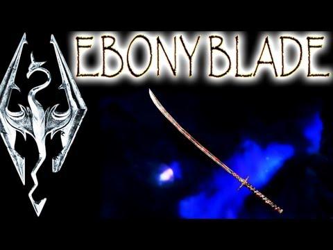 Skyrim: Daedric Artifacts - Ebony Blade (