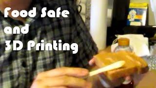 3D Bench Talk   Food Safe