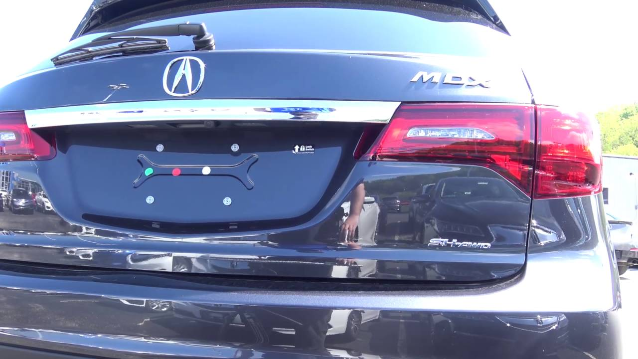 2016 Acura Mdx Trim Levels