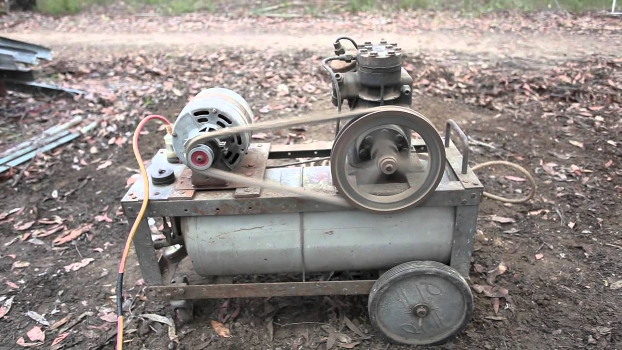 old air compressor working for sale