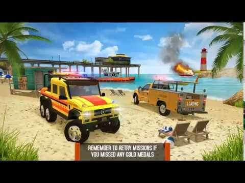 Coast Guard: Beach Rescue Team - Android Gameplay - Free Car Games To Play Now