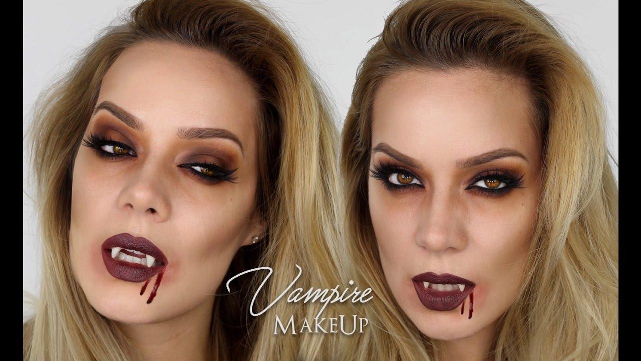 Easy Vampire MakeUp Halloween