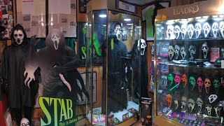 MASSIVE HORROR COLLECTION TOUR: Masks, Screen used props, posters, and more!