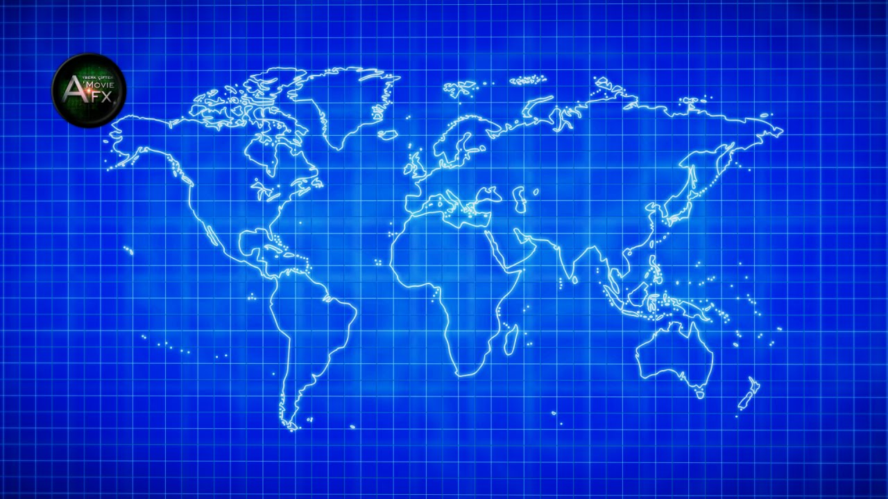 ae blueprint animation world map dünya haritası youtube