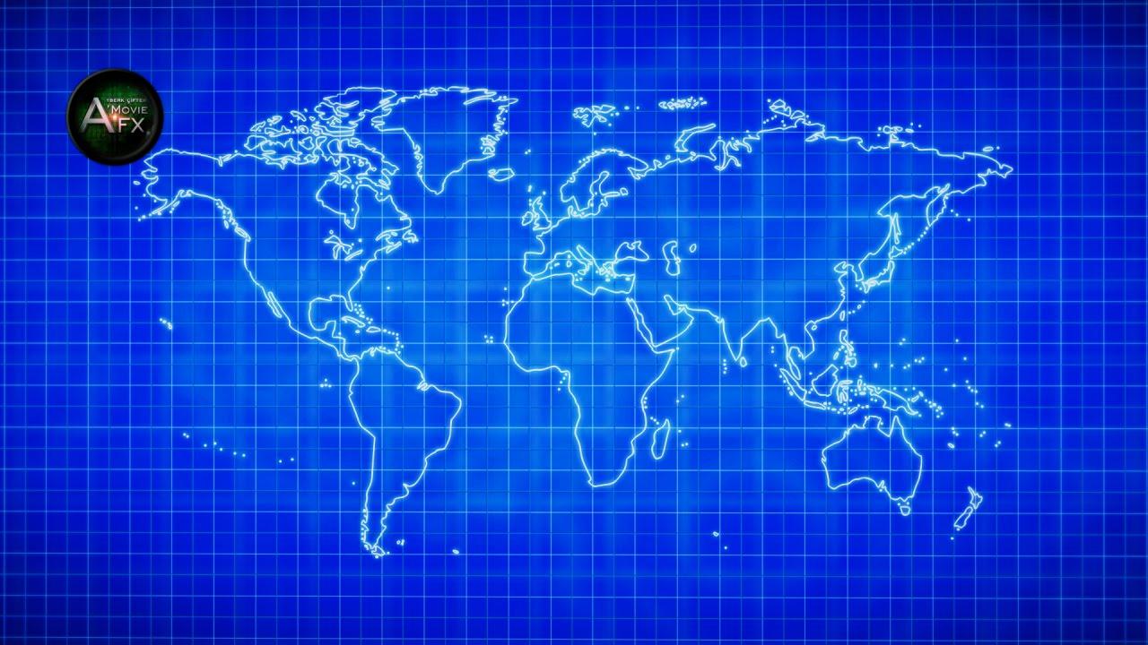 Ae blueprint animation world map dnya haritas youtube ae blueprint animation world map dnya haritas malvernweather Image collections