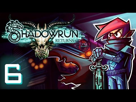 ♞ Shadowrun Returns - Part #6 [Hard Hacking] Max Plays